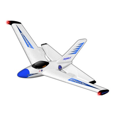 Megatech 2Ch Radio Control Electric Interceptor Aerobatic Jet RTF blue